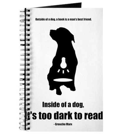 Inside of a Dog Journal