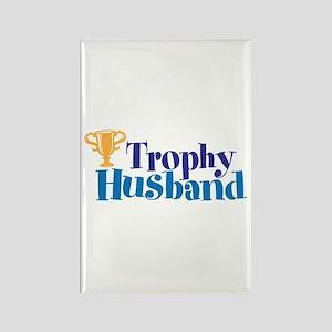 Trophy Husband Valentine Rectangle Magnet