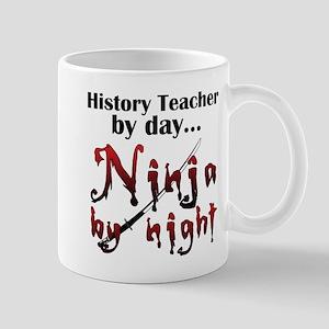 History Teacher Ninja Mug