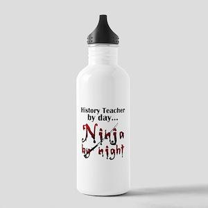 History Teacher Ninja Stainless Water Bottle 1.0L