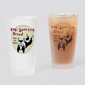 Boston Terrier Nonsporting Drinking Glass