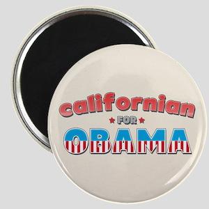 Californian For Obama Magnet