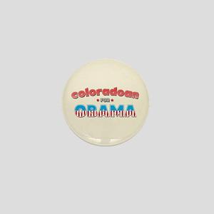 Coloradoan For Obama Mini Button