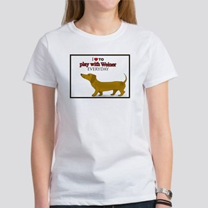 Wiener for Girls Women's T-Shirt