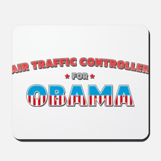 Air Traffic Controller For Ob Mousepad