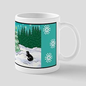 Newfoundlands Christmas Mug