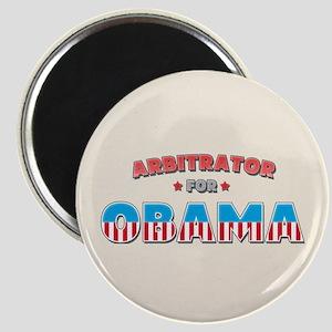Arbitrator For Obama Magnet