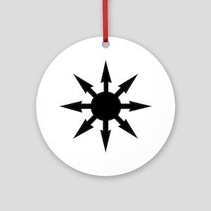 Chaos star Ornaments Ornament (Round)