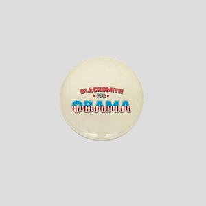 Blacksmith For Obama Mini Button