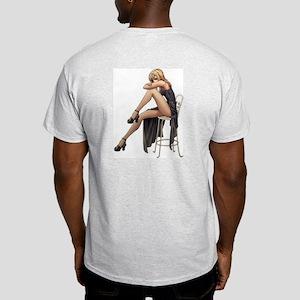 Hot Sexy Woman. Light T-Shirt