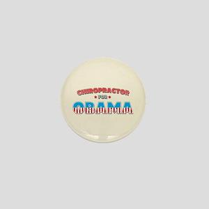 Chiropractor For Obama Mini Button