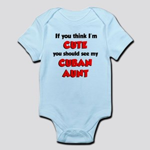 Cute Cuban Aunt Infant Bodysuit