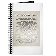 Profession of Faith Journal