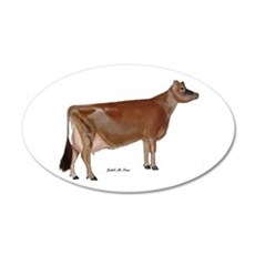 Jersey Cow Wall Decal