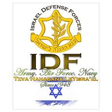 IDF Wall Art Poster