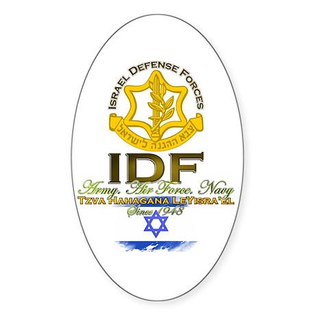 IDF Sticker (Oval)