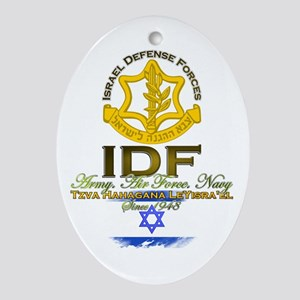 IDF Ornament (Oval)