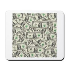 Dollar Bills Mousepad