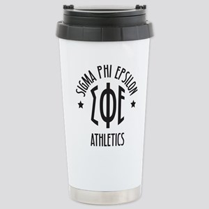 Sigma Phi Epsilon Star Travel Mug