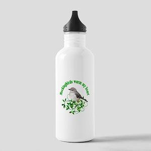 Mockingbirds Warm My Heart Stainless Water Bottle