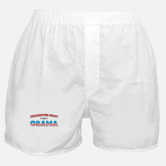 Helicopter Pilot For Obama Boxer Shorts