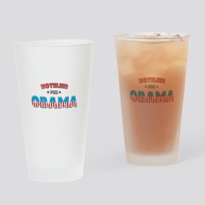 Hotelier For Obama Drinking Glass
