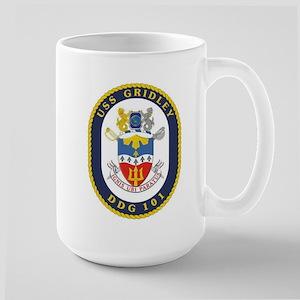 USS Gridley DDG 101 Large Mug