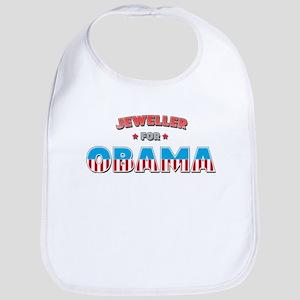 Jeweller For Obama Bib