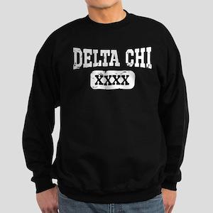 Delta Chi Athletic Personalized Sweatshirt (dark)