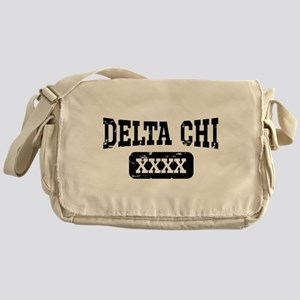 Delta Chi Athletic Personalized Messenger Bag