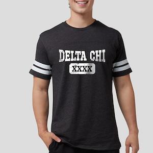 Delta Chi Athletic Personal Mens Football T-Shirts