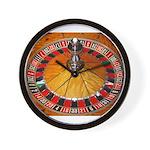 Vegas Casino Wall Clock