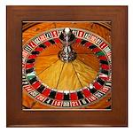 Vegas Casino Framed Tile