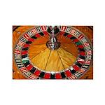 Vegas Casino Rectangle Magnet