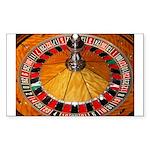 Vegas Casino Sticker (Rectangle 50 pk)