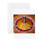 Vegas Casino Greeting Cards (Pk of 10)