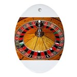 Vegas Casino Ornament (Oval)