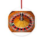 Vegas Casino Ornament (Round)