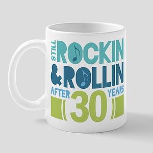 30th Anniversary Rock N Roll Mug