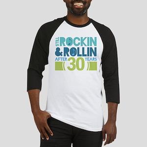 30th Anniversary Rock N Roll Baseball Jersey