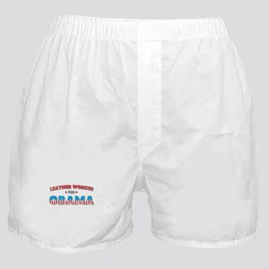 Leather Worker For Obama Boxer Shorts