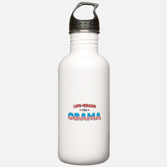 Life-Guard For Obama Water Bottle