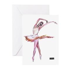 dance, ballet Greeting Cards (Pk of 20)