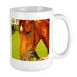 horse picture on Large ceramic Mug