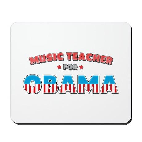 Music Teacher For Obama Mousepad