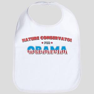 Nature Conservator For Obama Bib