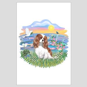 SunriseLilies-Cavalier #2 Large Poster