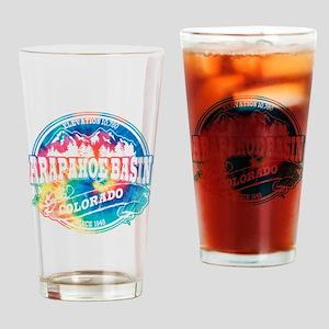 Arapahoe Basin Old Circle Drinking Glass