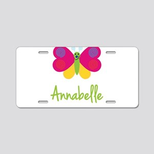 Annabelle The Butterfly Aluminum License Plate