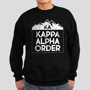 Kappa Alpha Order Mountains Sweatshirt (dark)